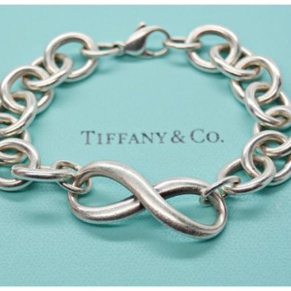 7c5e8033b1fbb Tiffany & Co. Sterling Silver Infinity Bracelet
